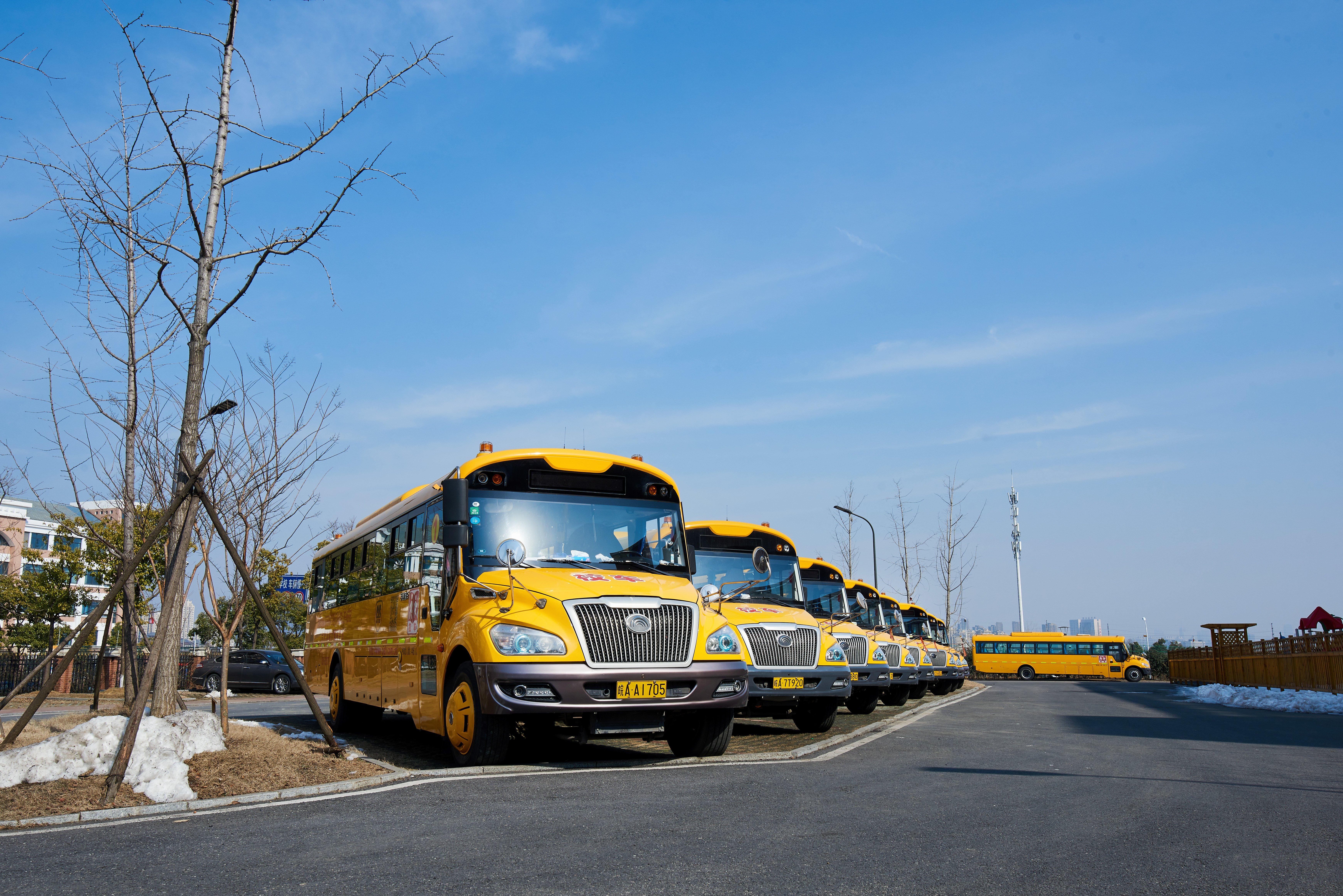 Our school bus fleet